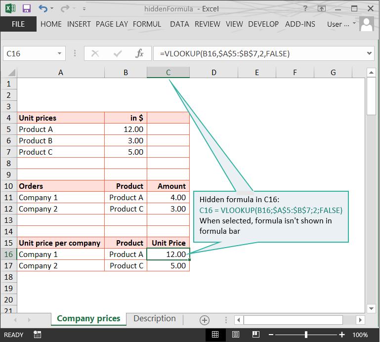 Hidden Formulas :: Hidden Info :: Risk Detection :: PerfectXL