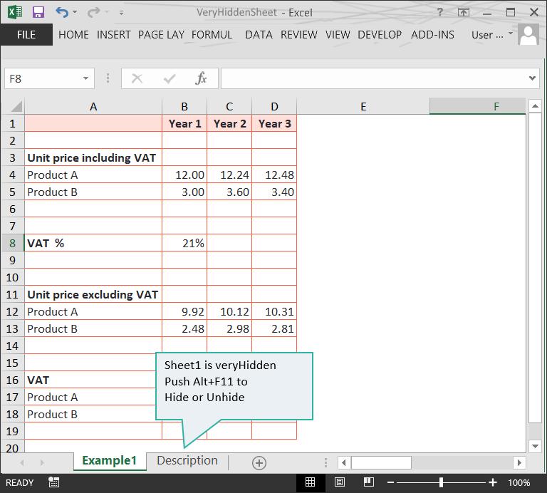 Very Hidden Worksheet 1 of 2 :: Hidden Info :: Risk Detection :: PerfectXL