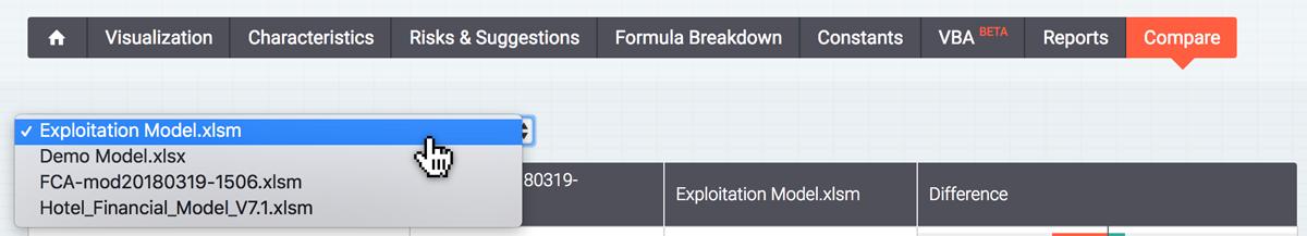 Tutorial Compare Spreadsheets :: PerfectXL Spreadsheet Validation Tool