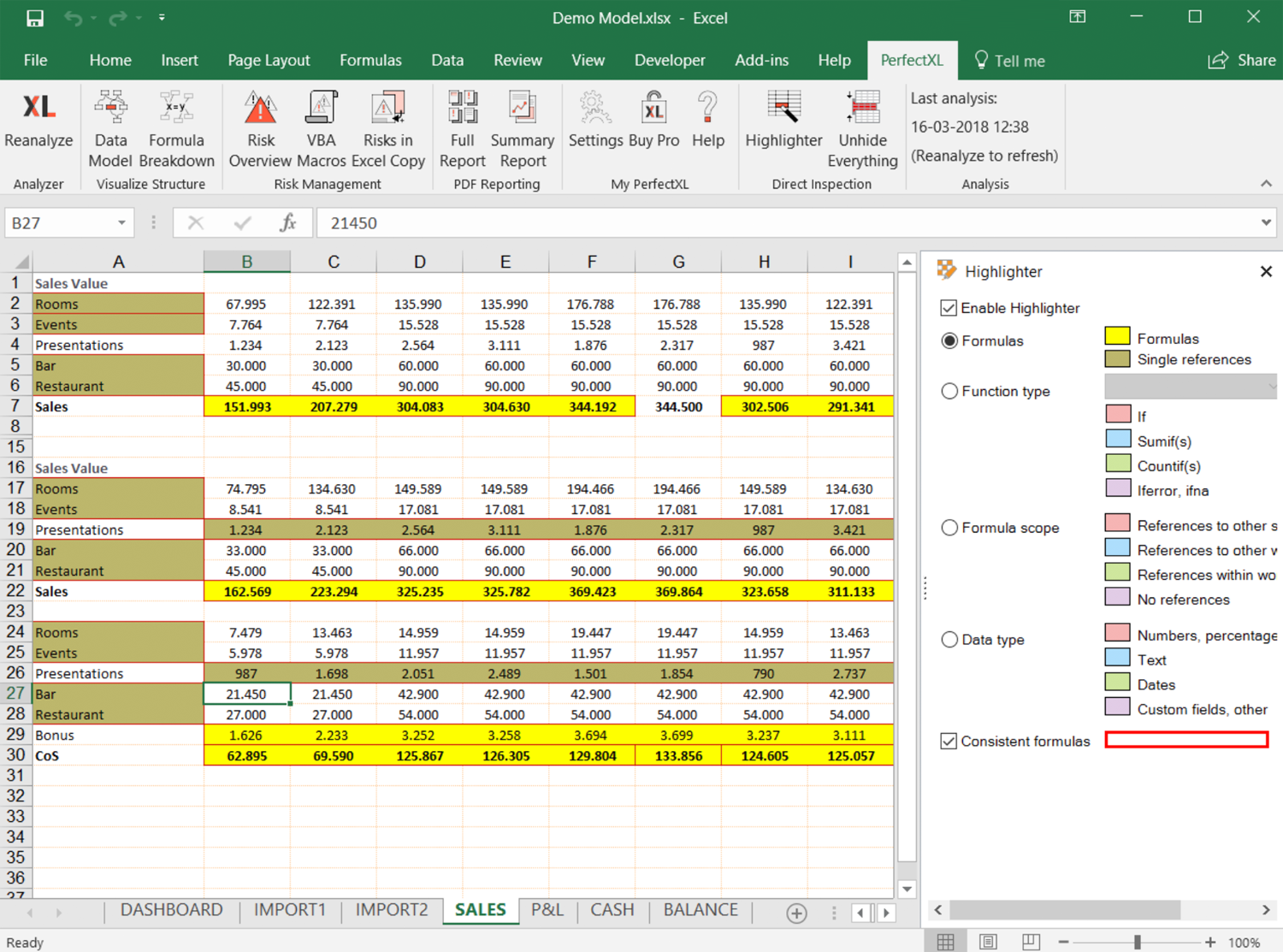 Download Excel Add-in :: PerfectXL Spreadsheet Validation Tool