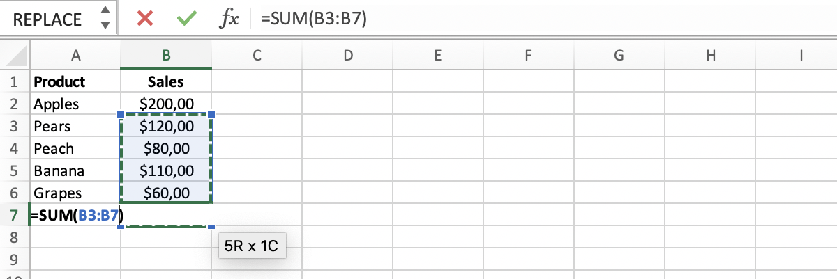Example of a circular reference in Excel // PerfectXL Spreadsheet Validation