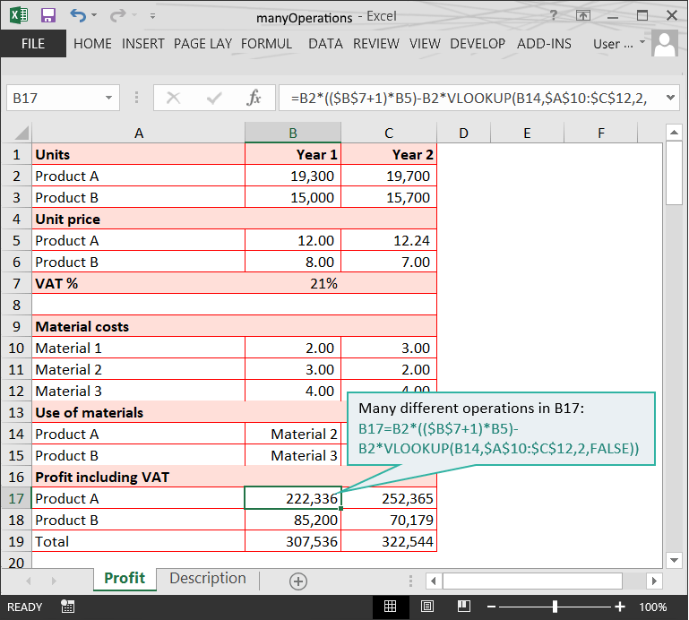Many Operations // The Risks of Complex Formulas in Excel // PerfectXL Risk Eliminator