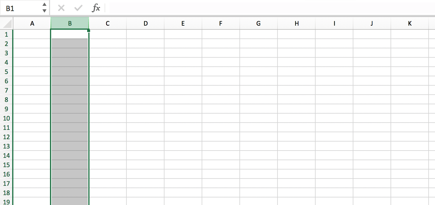 Selecting a column in an Excel file // PerfectXL