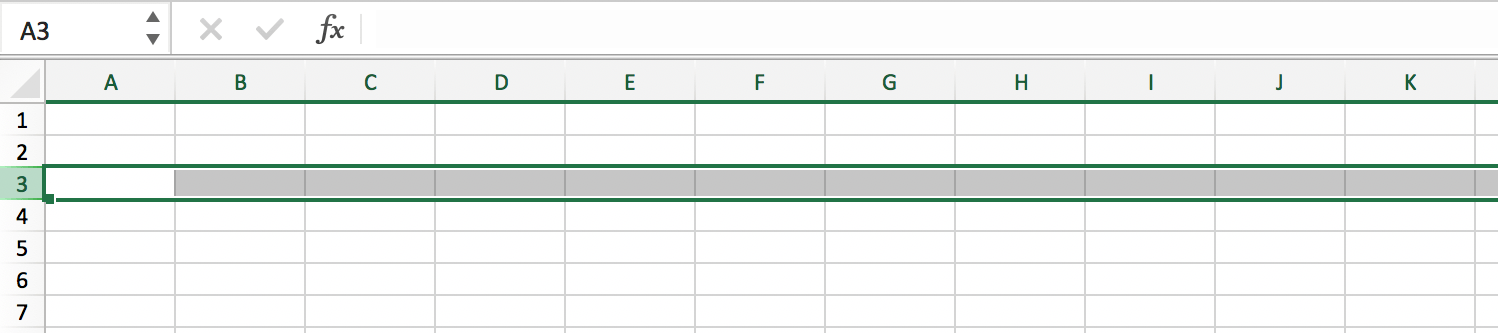 Selecting a row in an Excel file // PerfectXL