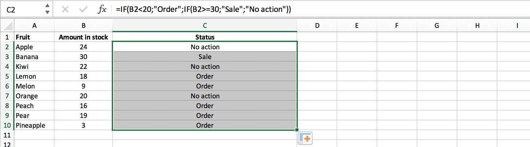 Extending a nested IF function in Excel // PerfectXL
