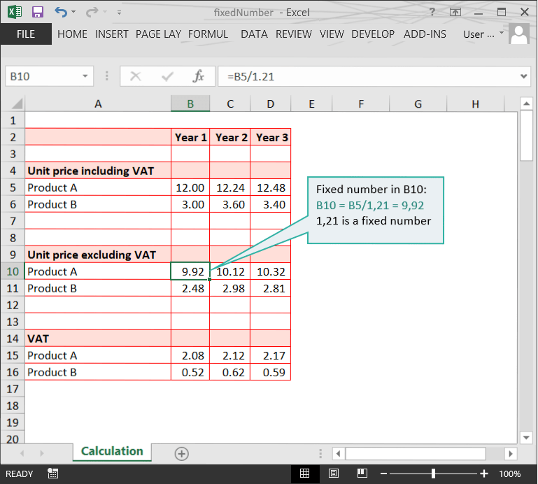 Fixed Numbers // Calculation Doubts in Excel Files // PerfectXL Risk Eliminator
