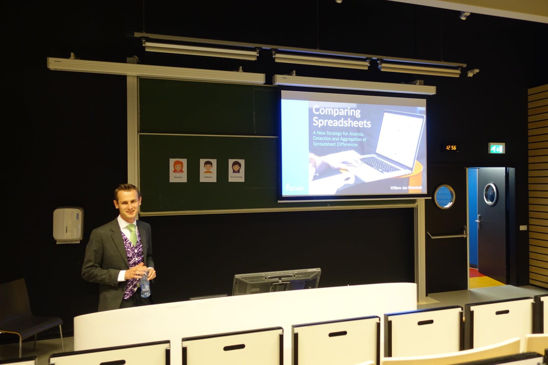 Willem-Jan Presenting PerfectXL Explore // PerfectXL