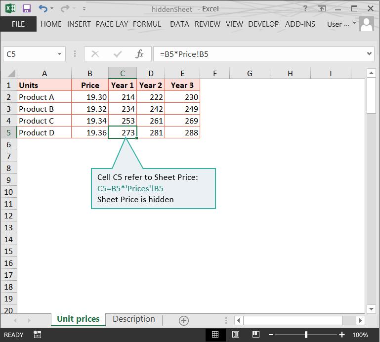 Hidden worksheets in Excel files // PerfectXL Risk Eliminator