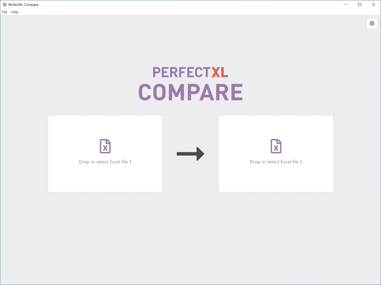 Getting started with PerfectXL Compare