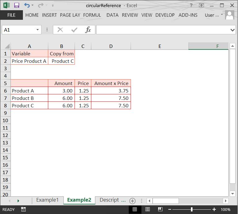 Circular Reference (2) // The Risks of Structure Issues in Excel // PerfectXL Risk Eliminator