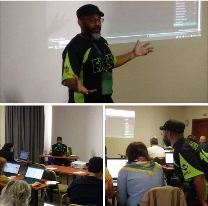 Oz du Soleil teaching an Excel Masterclass // PerfectXL Excel Blog