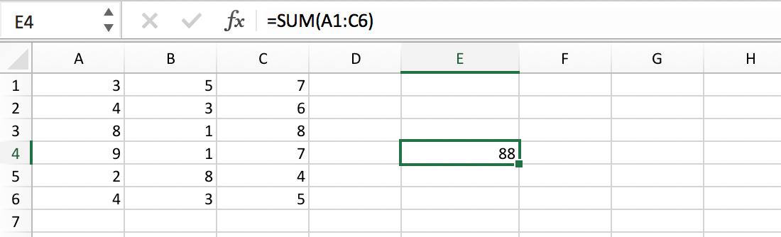 Celbereik in een formule // Verklarende Woordenlijst Excel // PerfectXL