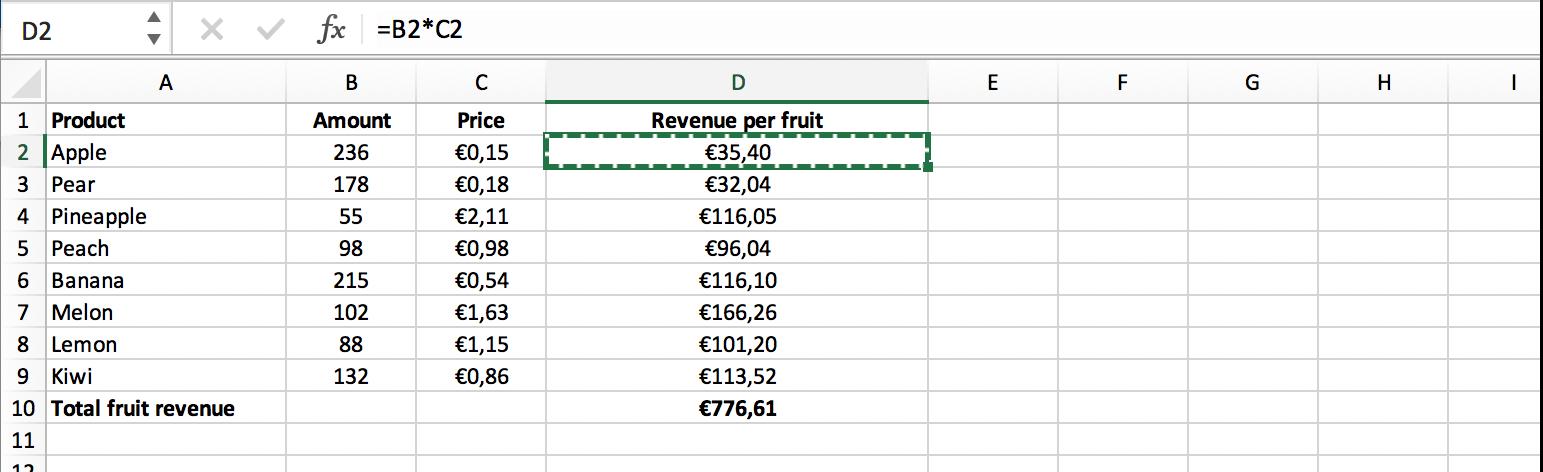 Berekening zonder array formule // Verklarende Woordenlijst Excel // PerfectXL