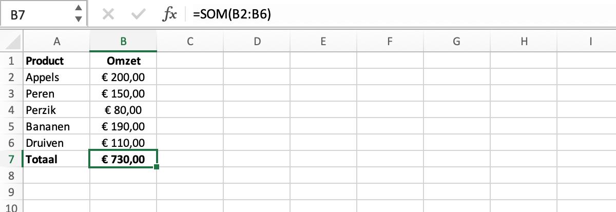 Wat is een kringverwijzing in Excel // Verklarende woordenlijst Excel // PerfectXL