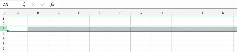 Wat is een spreadsheet // Rij selecteren // Verklarende Woordenlijst Excel // PerfectXL